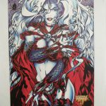 Jensen Original (Lindo) –page from Lady Death in Lingerie