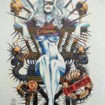 Jensen Original (Balent) –page from Lady Death: Swimsuit #1