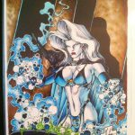 Jensen Original (Hughes) –cover from Lady Death: The Crucible #1/2