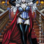 "Lady Death: Majestic 11x17"" Print"